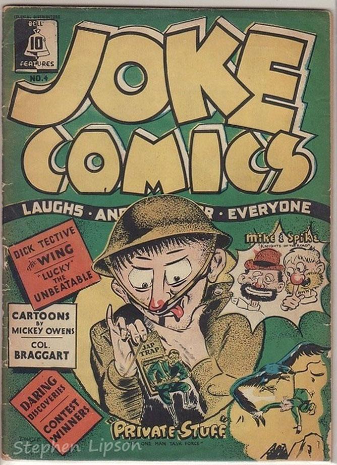 Bell Features Joke Comics #4
