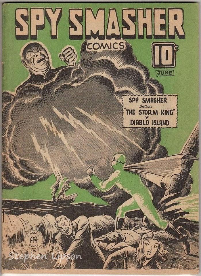 Spy Smasher comics v2 #11
