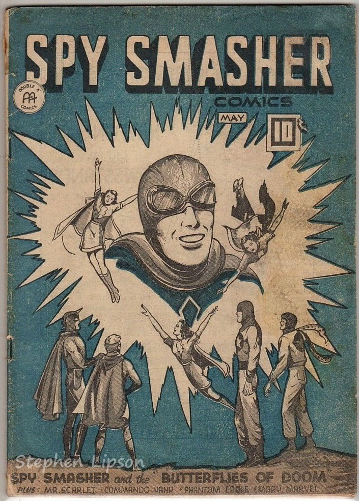 Spy Smasher comics v4 #10