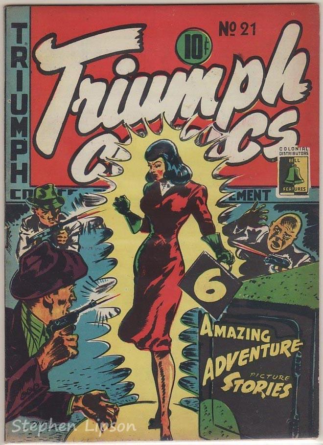 Bell Features Triumph Comics #21