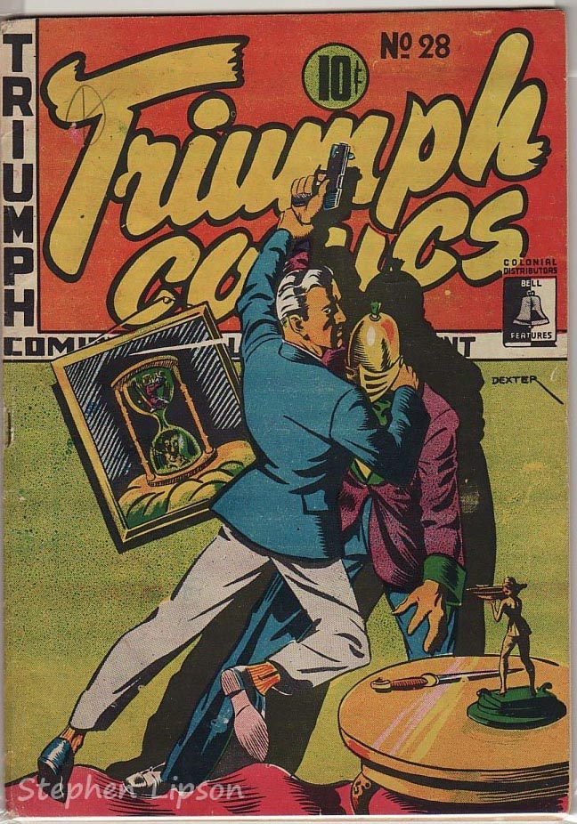 Bell Features Triumph Comics #28