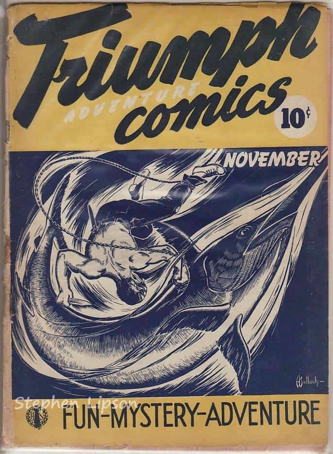 Triumph Adventures Comics #4