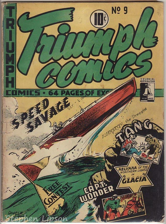 Bell Features Triumph Comics #9