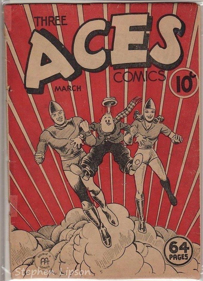 Three Aces Comics v2 #2