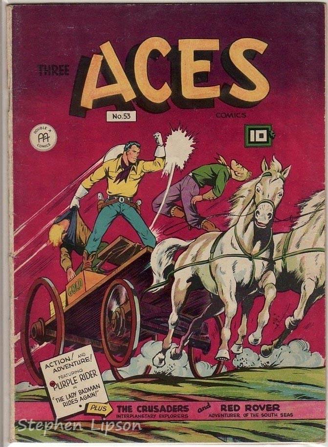 Three Aces Comics #53