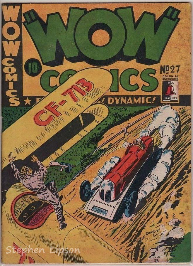 Bell Features WOW Comics #27