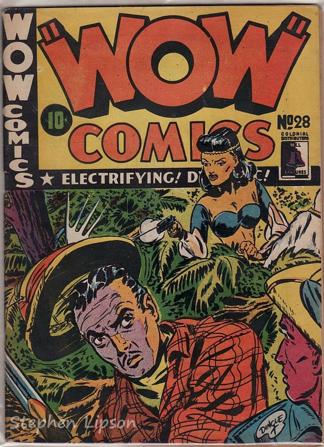 Bell Features WOW Comics #28