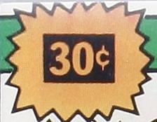 Marvel 30c Price Variant 'starburst' blurb