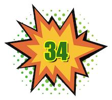 Hot Comics #34