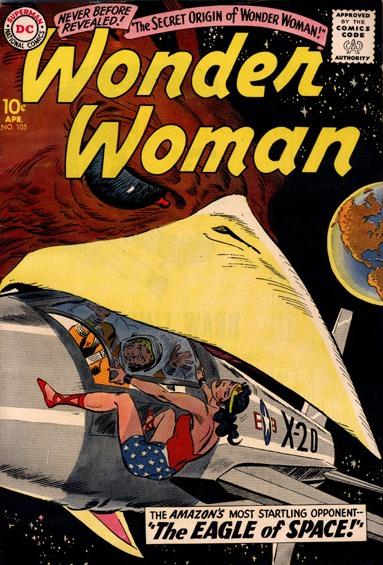 Wonder Woman #105 (1959)