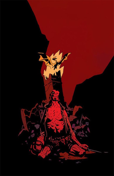 #64: Hellboy: The Fury 3 Retailer Incentive Edition, Mignola (2011). Click for values