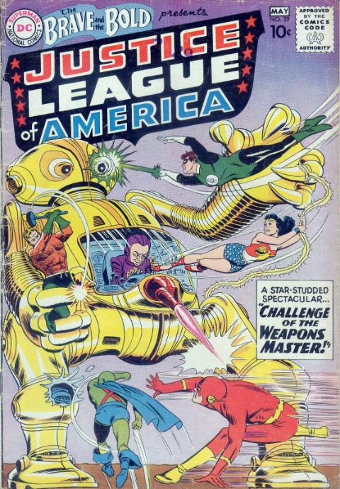 Brave and the Bold #29: rare comic book with JLA