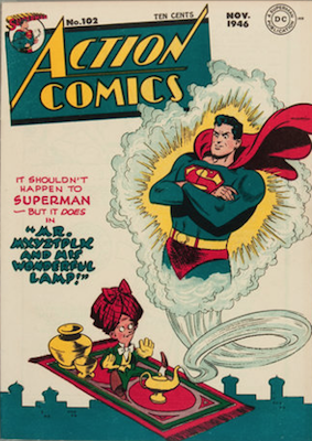 Action Comics 102. Click for current values.