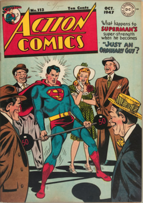Action Comics 113. Click for current values.