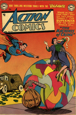 Action Comics 167. Click for current values.