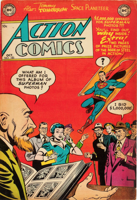Action Comics 185. Click for current values.