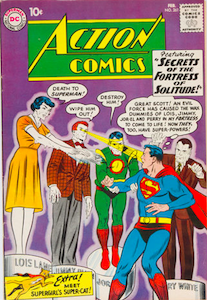 Action Comics #261: Origin and 1st Appearance, Streaky the Super-Cat. Click for value
