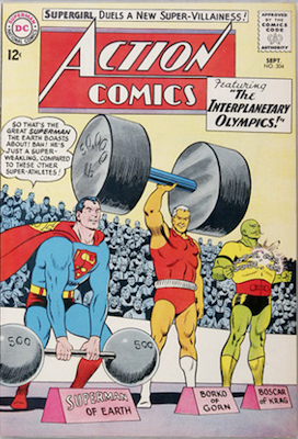 Action Comics #304: Origin and 1st Appearance, Black Flame. Click for value