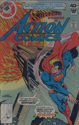 Action Comics #497. Click for current values.