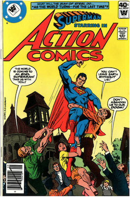 Action Comics #499. Click for current values.