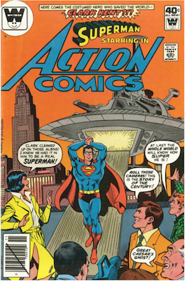 Action Comics #501. Click for current values.