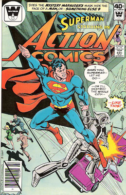 Action Comics #504. Click for current values.