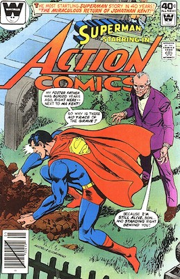Action Comics #507. Click for current values.