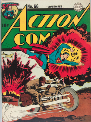 Action Comics 66. Click for value
