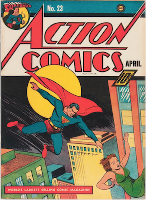 Action Comics #23: 1st Appearance of Lex Luthor. Click for values