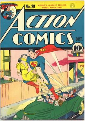 Action Comics #29. Click for current values.