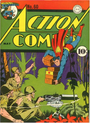 Action Comics #60. Click for current values.