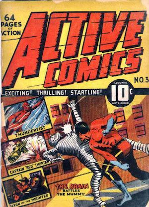 Active Comics #3