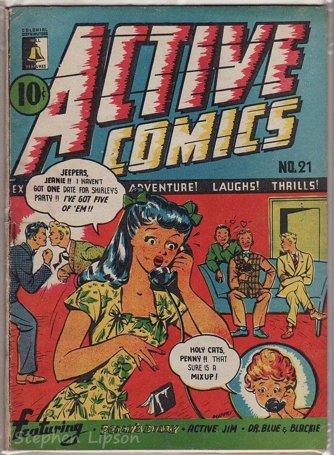 Active Comics #21