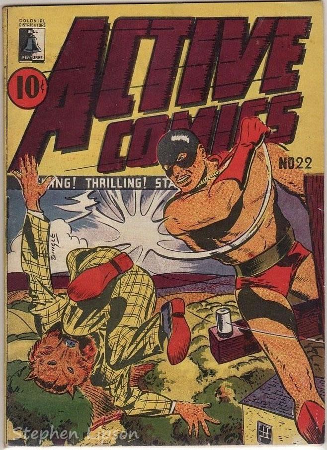 Active Comics #22