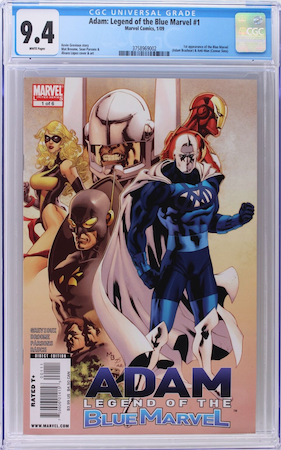 We recommend a CGC 9.4. If the book continues to double in value then you will still do well, and have less at risk. Click to buy a copy