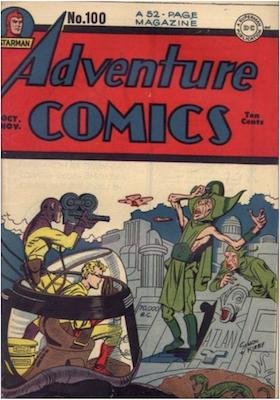Adventure Comics #100. Click for values.
