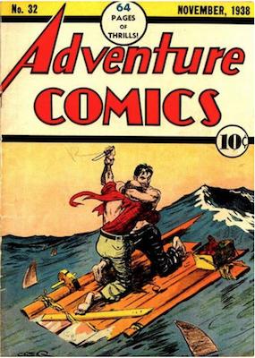 Adventure Comics #32. Click for values.
