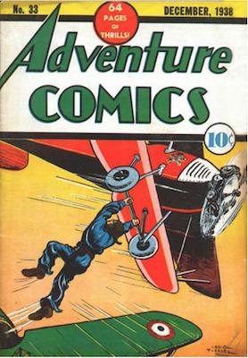 Adventure Comics #33. Click for values.