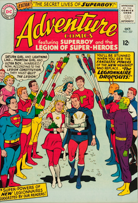 Adventure Comics #337: Marriage Issue. Click for values