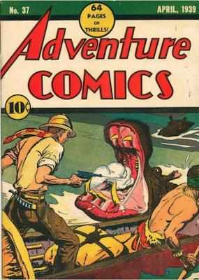 Adventure Comics #37. Click for values.