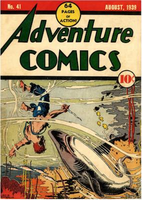 Adventure Comics #41. Click for values.