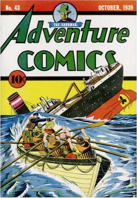 Adventure Comics #43. Click for values.