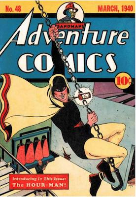 Adventure Comics #48. Click for values.