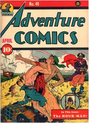 Adventure Comics #49. Click for values.