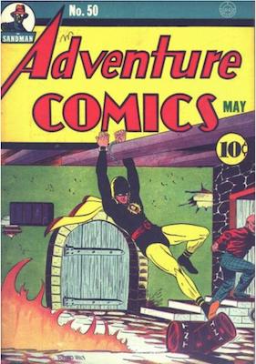 Adventure Comics #50. Click for values.