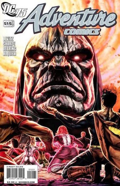 #48: Adventure Comics 515 (12) Bermejo Variant (2010). Click for values