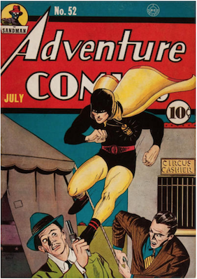 Adventure Comics #52. Click for values.