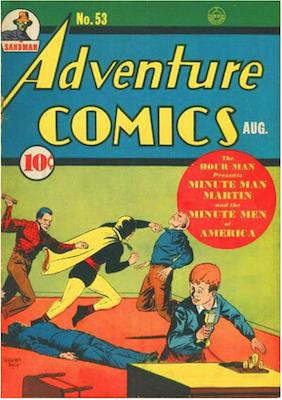 Adventure Comics #53. Click for values.