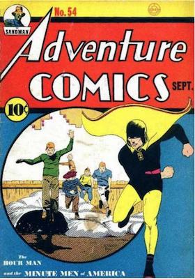 Adventure Comics #54. Click for values.