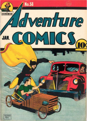 Adventure Comics #58. Click for values.